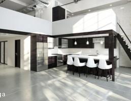 آشپزخانه سبک صنعتی