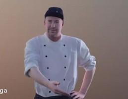 کاراکتر مرد سرآشپز