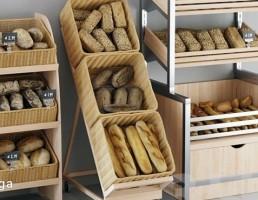 قفسه نان فروشگاه