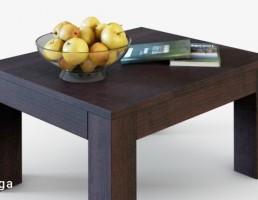 مبل مدرن + ظرف میوه + کتاب