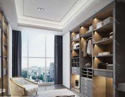 صحنه داخلی اتاق به سبک مدرن