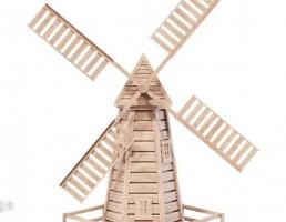 آسیاب بادی چوبی