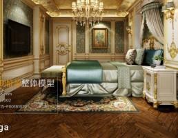اتاق خواب کلاسیک سبک اروپایی