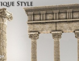 ستون سنگی کلاسیک