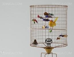 قفسه پرنده تزیینی