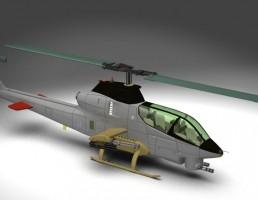 مدل بالگرد AH12