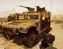 ماشین BF3 مدل Humvee Modified