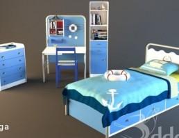 ست تخت خواب اتاق کودک