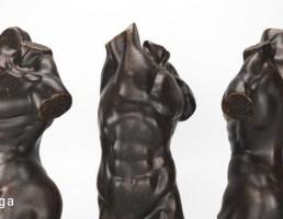 مجسمه نیم تنه بدنساز