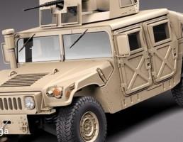 ماشین جنگی HMMWV Humvee Hummer