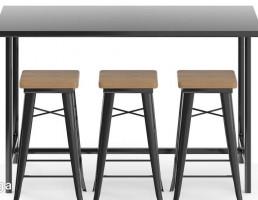 میز + صندلی بار