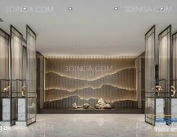 صحنه داخلی سالن و راهرو