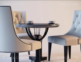 میز و صندلی نهارخوری کلاسیک