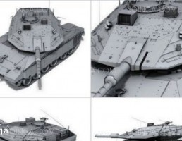 تانک Merkava Mark IV