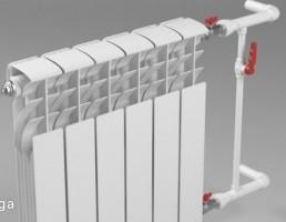مدل سه بعدی رادیاتور