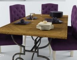 میز + صندلی نهارخوری لوکس