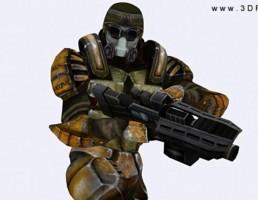 سرباز علمی تخیلی از 3DRT