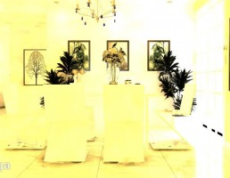 صحنه داخلی اتاق پذیرایی