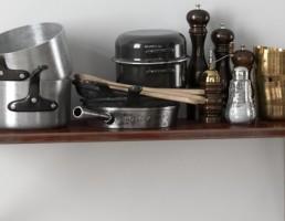وسایل آشپزخانه - قابلمه و جا ادویه