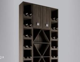 کابینه شراب (قفسه بار)