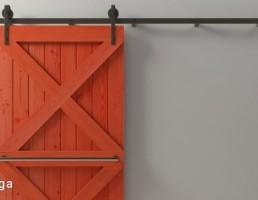 درب کشویی چوبی