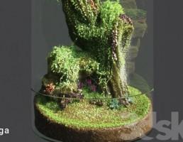 تراریوم باغ شیشه ایی