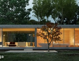 نمای خارجی خانه مدرن