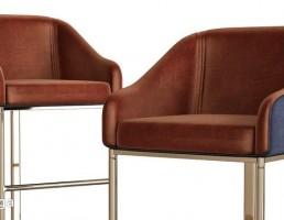 صندلی کافه و بار کلاسیک