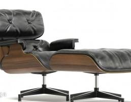 صندلی چرمی + جلو پایی