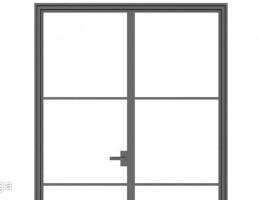 درب دوتایی داخلی