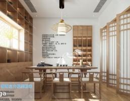 صحنه داخلی اتاق پذیرایی چینی