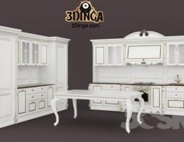 مجموعه آشپزخانه کلاسیک