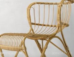 صندلی راحتی چوبی