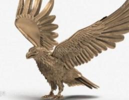 مجسمه عقاب برنز