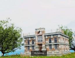 ساختمان قدیمی اروپایی
