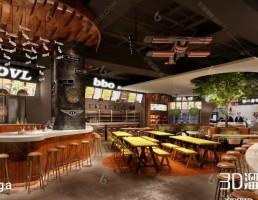 رستوران  + کافه شیک