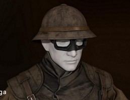 کاراکتر سرباز