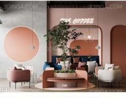 صحنه داخلی قهوه خانه