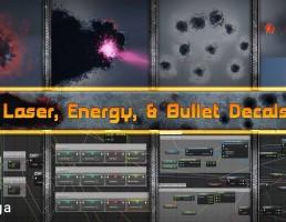 سیستم پیشرفته Decal در طرح ها و مجموعه گسترده