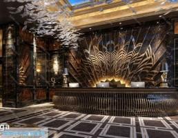 لابی هتل سبک اروپایی