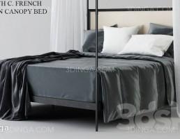تخت خواب دو نفره سایبان دار
