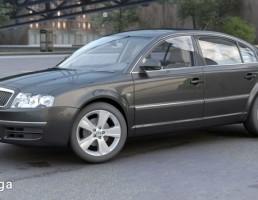 ماشین اسکودا مدل Superb سال 2006