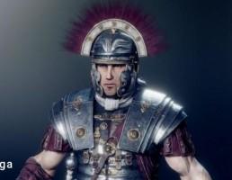 کاراکتر  مرد جنگجوی رومی
