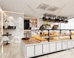 صحنه داخلی شیرینی فروشی