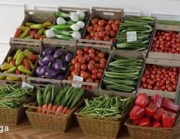 جعبه سبزیجات فروشگاهی