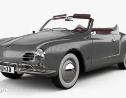 ماشین فلوکس واگن سال 1958