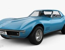 ماشین شورولت کوروت سال 1968