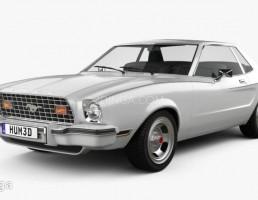 ماشین فورد موستانگ مدل coupe سال 1974