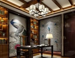 اتاق مطالعه سبک چینی