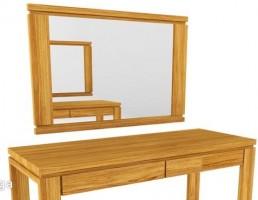 آینه + کنسول چوبی